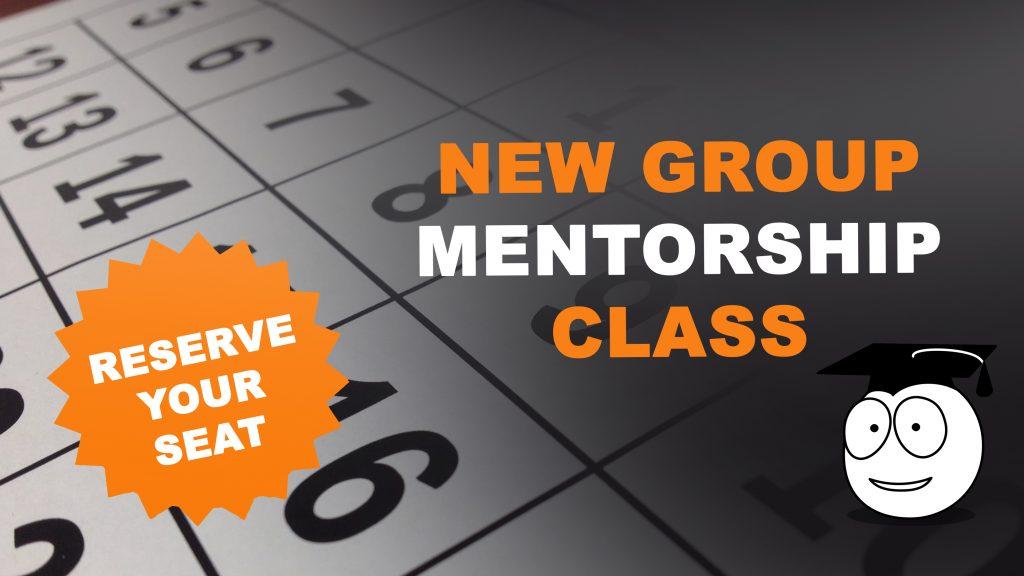 New Group Mentorship